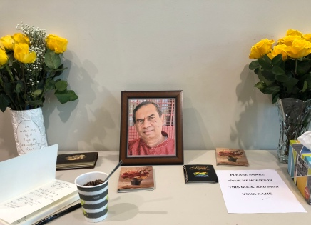 Celebration of his life on June 30th 2018